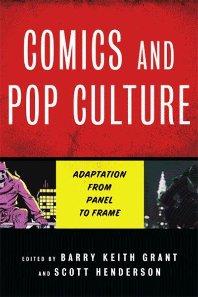 Comics and Pop Culture Cover