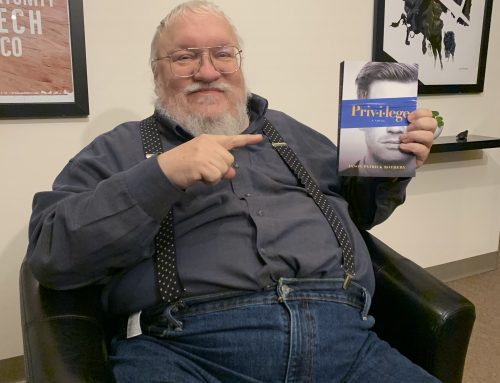 When George R.R. Martin Holds Up, and Points At, Your Book